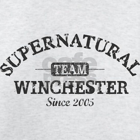 SUPERNATURAL Team Winchester gray