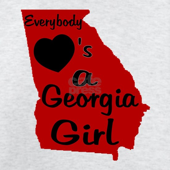 Everybody Loves a Georgia Girl Red and Blac