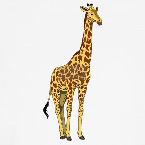 Very Tall Giraffe Illustration