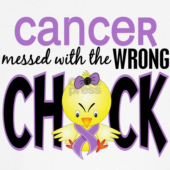 - Cancer Messed With Wrong Chick