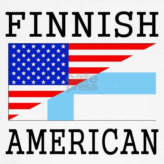 Finnish American Flag