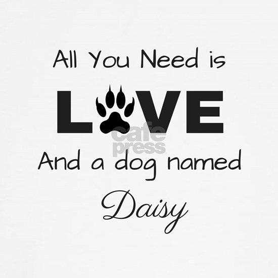 All you need is love and a dog named Daisy