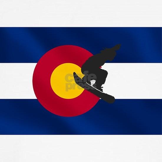 Colorado Snowboard Flag