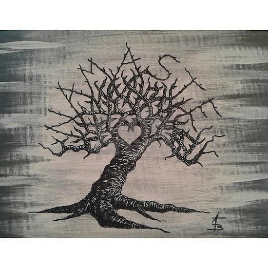 Namaste Love Tree- No Foliage