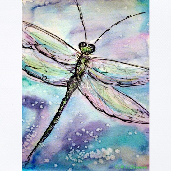 Dragonfly! Nature art!