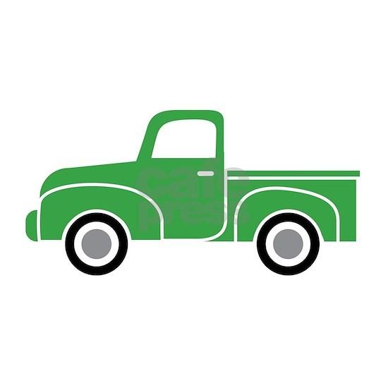 Vintage Green Truck