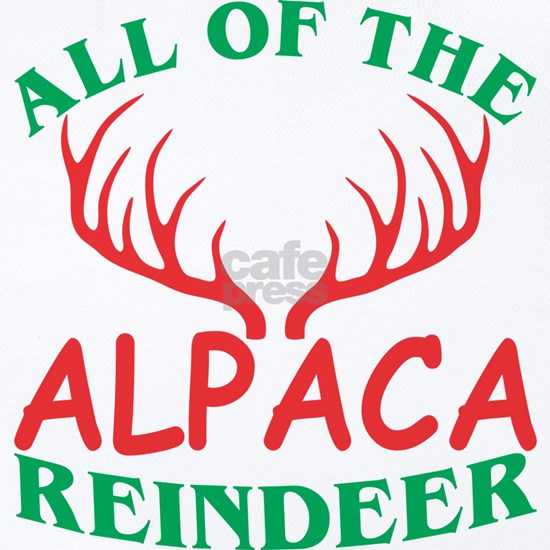 All Of The Alpaca Reindeer Christmas Xmas