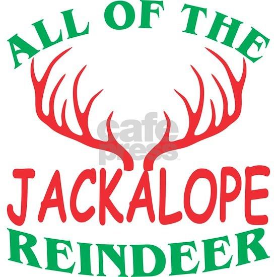 All Of The Jackalope Reindeer Christmas Xmas