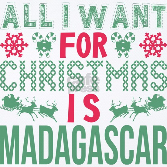 All I Want Christmas Madagascar Holidays