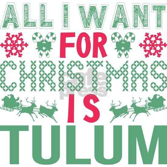 All I Want Christmas Tulum Holidays
