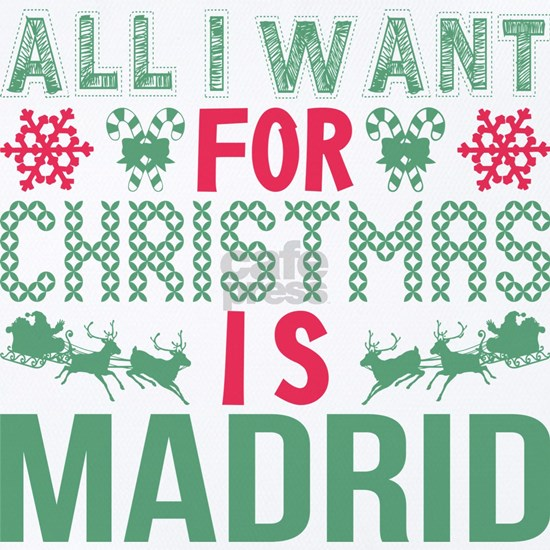 All I Want Christmas Madrid Holidays