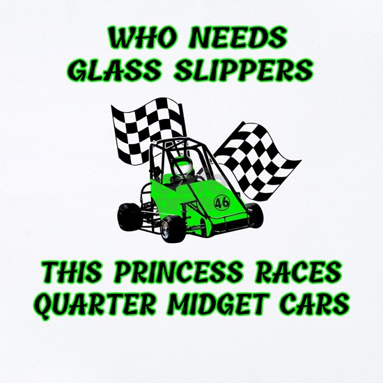 This Princess Is Racing The Quarter Midget Cars No