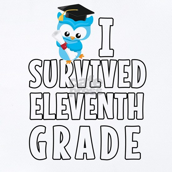I Survived Eleventh Grade Blue