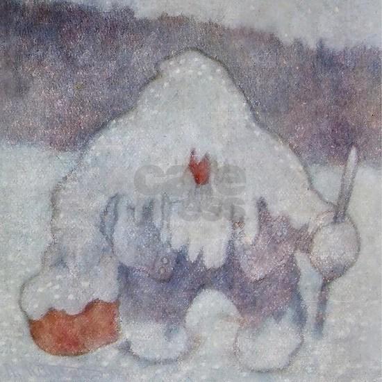 """Snow Troll"" by Theodor Kittelsen"
