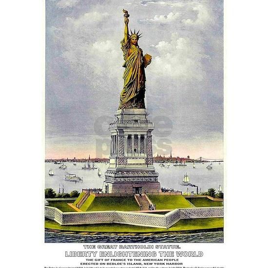 statue of Liberty Enlightening The World Print