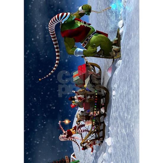 Santa's Last Minute Delivery Team