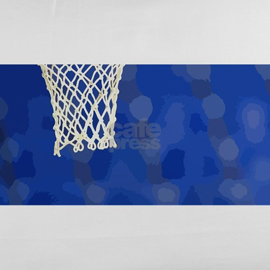 Basketball hoop and ball painting