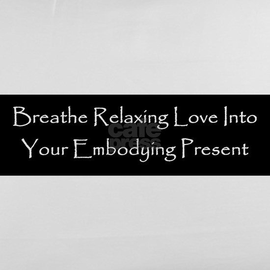 Breath Relaxing Love Into Embodying Present Black