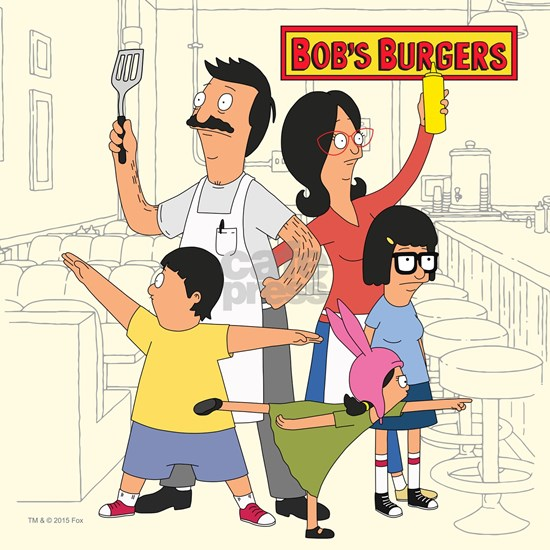 Bob's Burger Hero Family Square