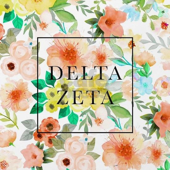 Delta Zeta Floral