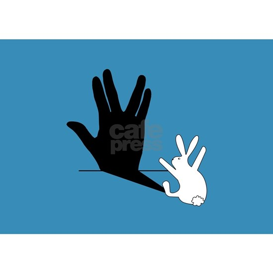 Star Trek Rabbit Vulcan Hand Shadow
