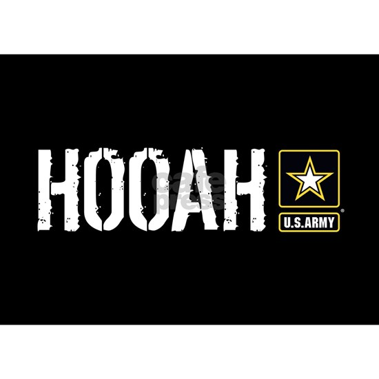 U.S. Army: Hooah (Black)