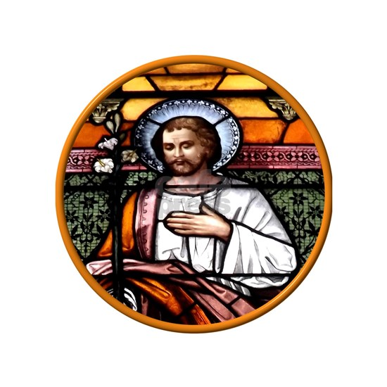 St. Joseph stained glass window