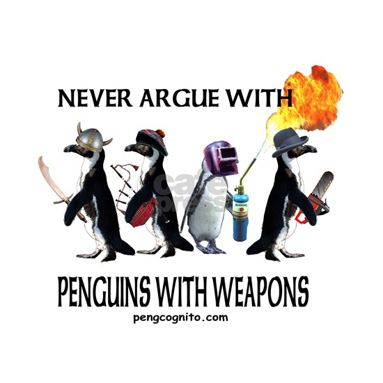 Penguins with Weapons