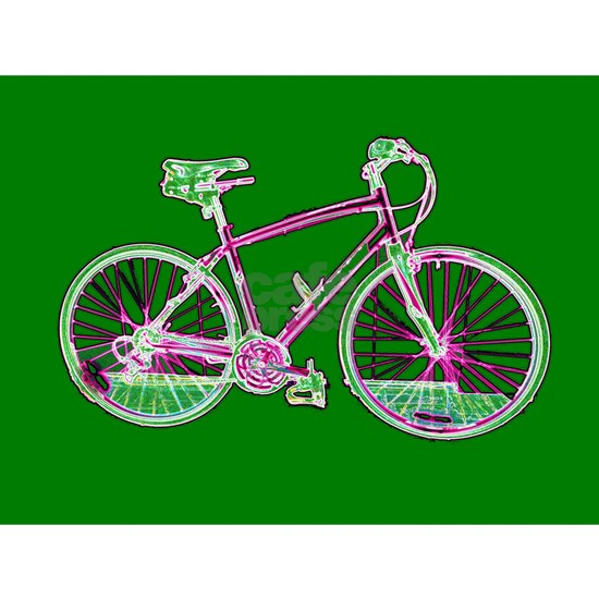 Ditch the Car Ride A Bicycle Green 4Shelby