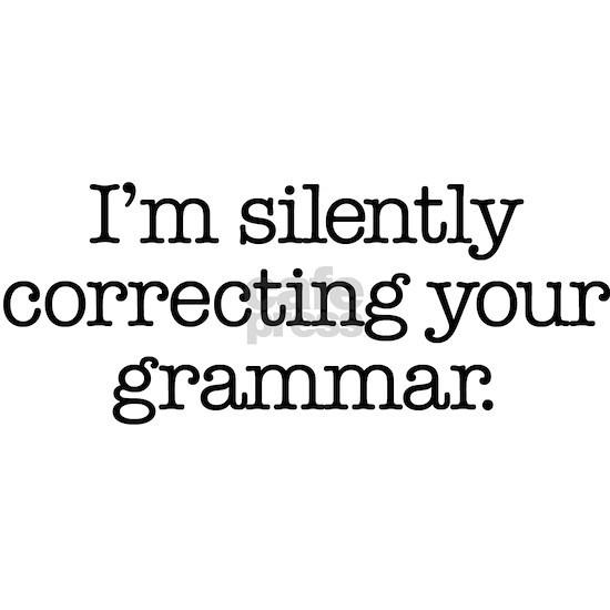 Grammar r sticker