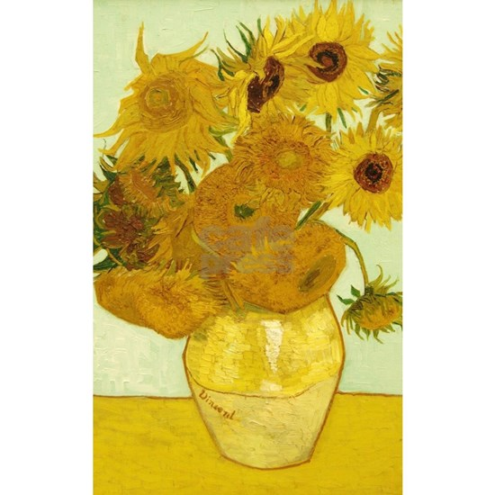 Vase with Twelve Sunflowers by Vincent Van Gogh