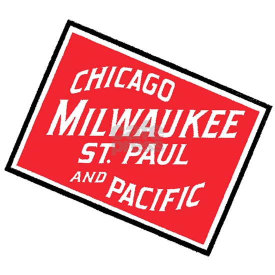 Badge of Chicago, Milwaukee, St.Paul & Pacific Rai