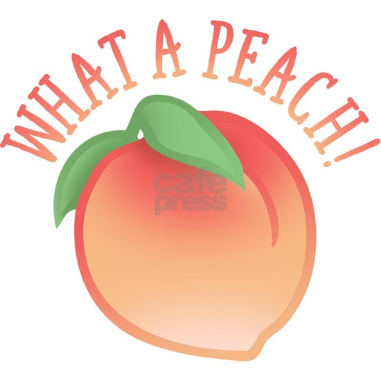 Cute What A Peach