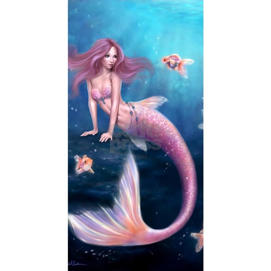 Aurelia Goldfish Mermaid