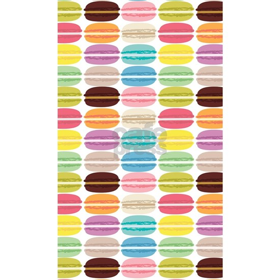 Rainbow French Macarons Pattern
