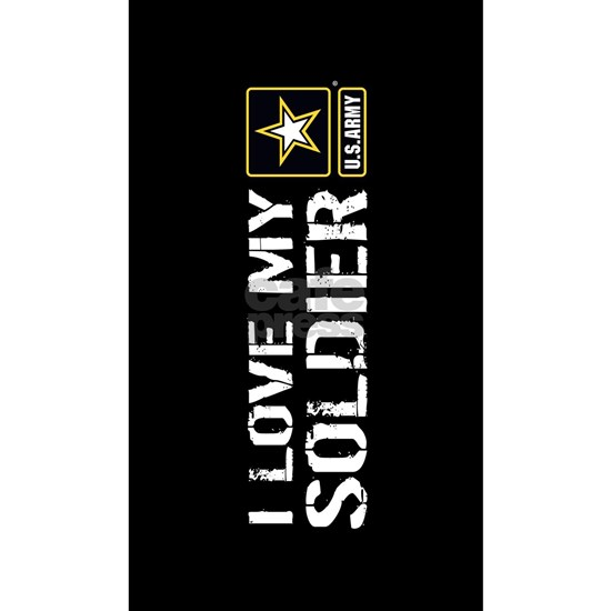 U.S. Army: I Love My Soldier (Black)