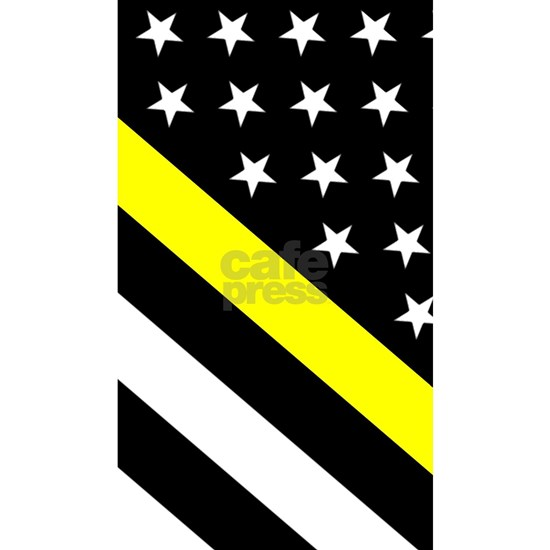 U.S. Flag: Thin Yellow Line