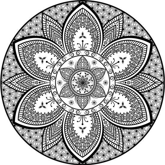 Mandala Flower Design