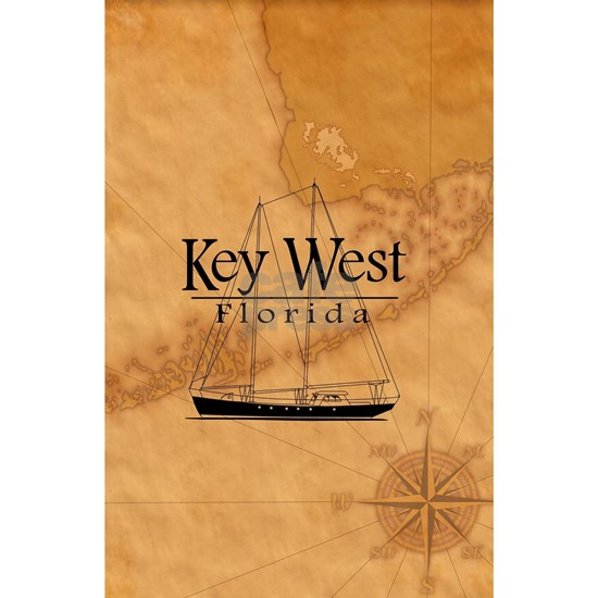 Key West Sailing And Nautical Map