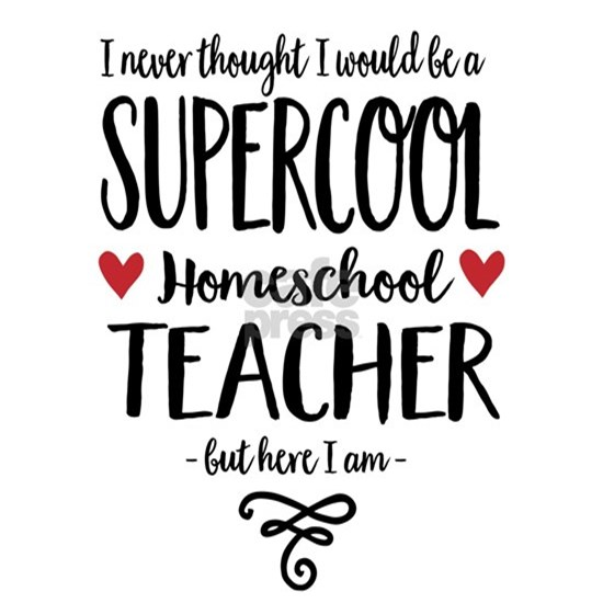 Supercool homeschool Teacher