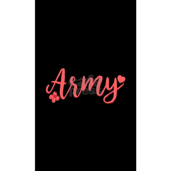 Army Girly Text
