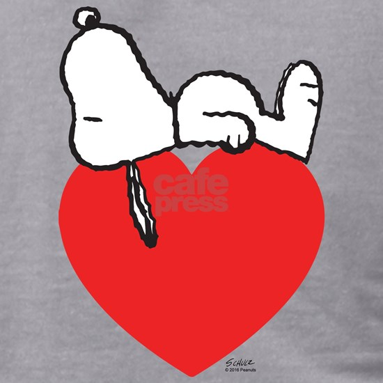 Snoopy on Heart