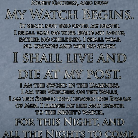 GOT NIGHT'S WATCH OATH