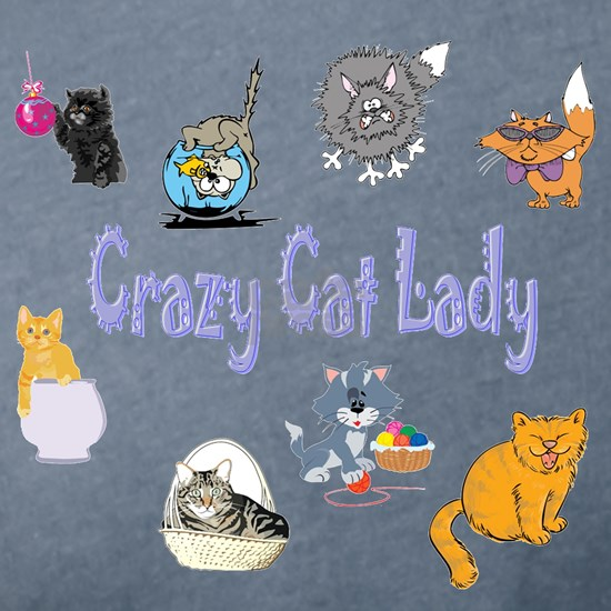 Crazy Cat Lady transparency