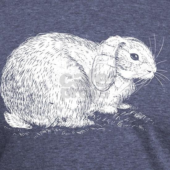 Cute Lop Eared Bunny Rabbit Sketch Gift Design Ide Mens ...