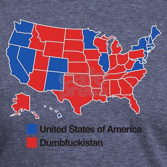 Map of Dumbfuckistan