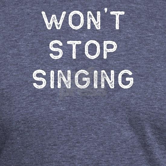 Music Shirt Wont Stop Singing Light Song Writer Mu