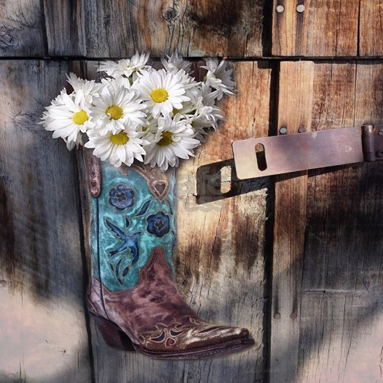 rustic daisy western country cowgirl