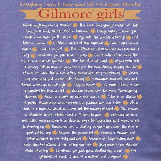 Gilmore Life Lessons