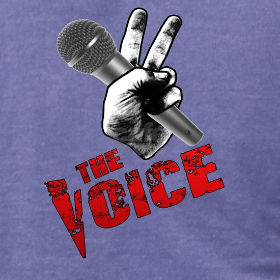 The Voice Grunge Gradient 030 Black Outline